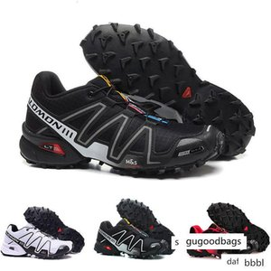 New 2019 Speed Cross 3 CS III Outdoor Male Camo Red Black mens Sports sneakers trainers Speed Crosspeed 3 running shoes size 40-46