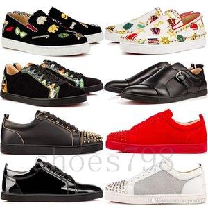 2019 kırmızı alt gz ayakkabılar 19ss başak çorap donna ani dipleri spor ayakkabıları chaussures topuklar erkekler rahat kadınlar düşükten yükseğe çizme tasarımcı perçin top