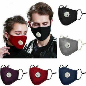 waschbar kann einwegfilter PM2. 5 Aktivkohle Schwarz Mund Maske Anti Staub Maske Winddicht Bakterien Beweis Gesichtsmasken MMA3364