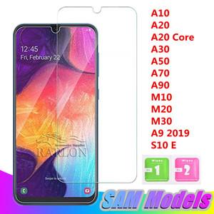 Nouveau Protecteur D'écran En Verre Trempé Clair Pour Samsung Galaxy A10 A30 A50 A70 A90 M10 M20 A30 A9 pro 2019 S10 E
