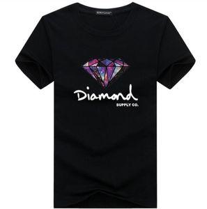 20ss Diamonds print Men's Casual T Shirt Designer Women Tshirts Short Sleeve with Letters Men Tee Shirt Crew Neck Women Tops Clothing