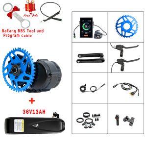 Livraison gratuite Hot vente 36V350W Bafang entraînement mi moteur BBS01 vélo électrique Kit de conversion avec affichage C965