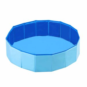 Dog Swimming Pool Foldable Pet Bath Swimming Tub Bathtub Pet Swimming Pool for Dogs Cats Kids