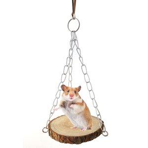 Hamster Качели Hamster Woodiness игрушки Статьи Parrot Сырье древесное Дайвинг платформы Гамак встряхивания Кровать