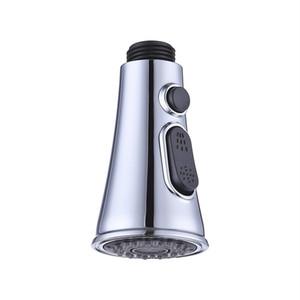 Küchenarmatur Nozzle Badezimmer-Bassin-Hahn-Zusatz-trompetenförmigen Button Switch Wasser sparende Duschbrause