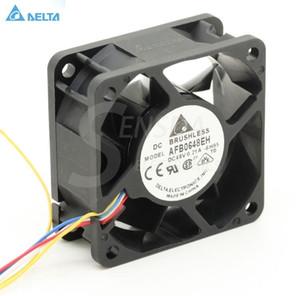Дельта 6025 48 В 0.21 AFB0648EH 6 см 60 мм 60 мм 4 -контактный ШИМ контроль температуры компьютер-сервер инвертор вентилятор охлаждения