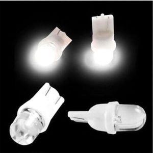 10pcs T10 LED 12V 5W Wedge Base Light Lamp Bulb for Car Dashboard Side Marker Dome Reading Corner License Plate
