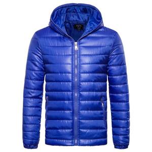 Mens Winter Jacket Fashion Hood parka zipper outdoor sports Lightweight jackets Windproof down coat mens designer jackets outwear M-XXL