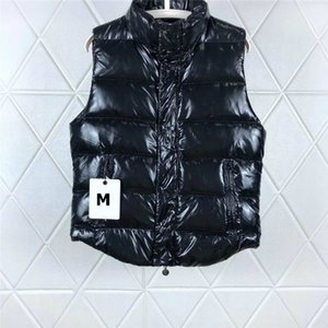 Asya Etiket Etiket Günlük Kış Sıcak Ceketler Marka Giyim Boyut 3 Stiller ile Mens Tasarımcısı Aşağı Yelek Lüks Harf Desen Kapşonlu Coat # 106