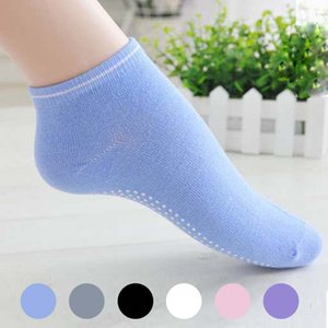 Yoga Socks Non Slip Массаж Лодыжки Женщины Пилатес Фитнес Красочные Носок Прочный Dance Grip Упражнение Печатные Тренажерный Зал Спортивные носки