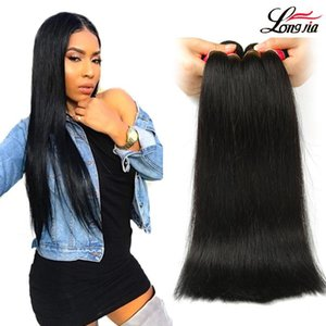 Cheap Malaysian straight human hair bundles 100% Malaysian virgin hair Remy straight Hair Weave Extensions can Buy 3 or 4 Bundles