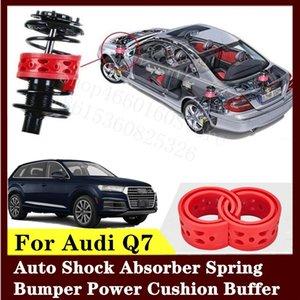 Для Audi Q7 2шт высококачественный передний или задний автомобильный амортизатор пружинный бампер мощность авто-буфера автомобильная подушка уретан