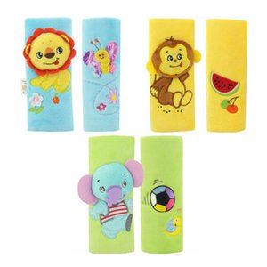 New 1PC Cartoon Baby Safety Belt Stroller Sleeve Baby Car Seat Protective Safety Belt Shoulder Sleeve Anti Friction Children Pad
