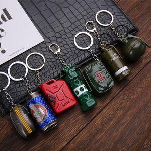 Jedi Survival Oyunu Dizzy Bombası Duman Bomba Enkaz Bombası Silah Ekipmanları Oyun Anahtarlıklar Sıcak toptan