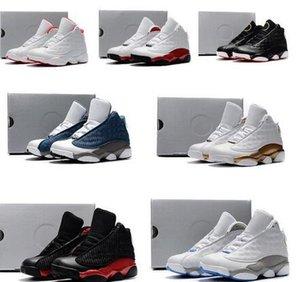 13s bon marché pour enfants chaussures bas de basket-ball orange noir garçons en terre cuite rouge filles Enfants Jeunes J13 de Jumpman 13 XIII chaussures de sport de démarrage bébé