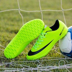 Tamanho 28-44 Criança futsal Turf interior CR7 Futebol Grampos Mens Superfly mulheres profissionais Crianças Meninos Futebol Botas Sapatos Sneakers
