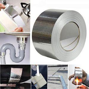 Folha de alumínio fita adesiva impermeável Duct Tape Super Repair crack Thicken Butyl Ferramentas Waterproof casa renovação # GT2