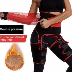 Siyam Bel Kayışlar Zayıflama Bacak Shaper Isıtıcı İnce Şekillendirme Bacaklar Kayışlar Yağ Yakma sarar Thermo Kompresör Şekillendiriciler