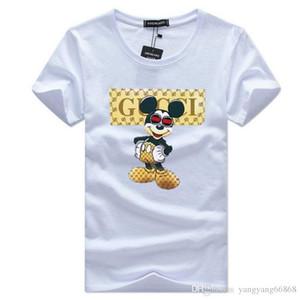 Frete grátis camisetas masculinas Balr rua maré marca de manga curta em torno do pescoço solto de manga curta de algodão dos homens personalidade dos homens '