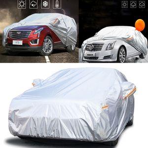 Cadillac Araba Kapak XT5 ATS-L CT6 Adanmış XTS CTS XT4 Kalınlaşmış ATSL Araba Kapak Güneş Kremi Yağmur Geçirmez Kar Koruma