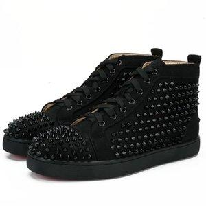 Новые дизайнерские шипованных Шипы Квартиры обувь для женщин Mens партии любителей из натуральной кожи Кроссовки 35-46 Оптовая Бесплатная доставка N2