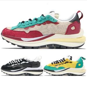 Sacai X Pegasus Vaporrly SP LDV Waffle 2020 Mens scarpe per le donne Racer verde Gusto nero Daybreak formatori Sport scarpe da tennis Taglia 36-45 in corso