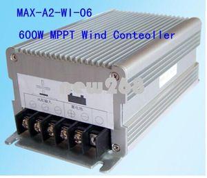 Freeshipping nuevo 600 W 12 V / 24 V Auto Power Wind MPPT Controlador de carga, generador de viento controlador de turbina de viento controlador de carga