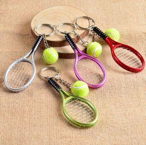 llavero del tenis de la joyería mujeres de los hombres llaveros linda diseñador caliente titular de la clave joyería creativa de la alta calidad de la nueva llegada