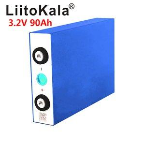 hierro batería LiitoKala 3.2V 90Ah LiFePO4 de litio de gran capacidad PHOSPHA baterías de motor 90000mAh de la motocicleta del coche eléctrico