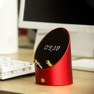 Bluetooth Music Bass Speaker Smart Retro Bluetooth Speaker Wireless Desktop Bluetooth Audio USB Charging Home Audio Red