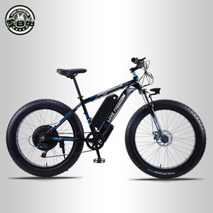 wholesale 26 inch Electric Bike 48V 13ah Lithium Battery Electric Mountain Bike 500W Motor Electric Snow Bicycle
