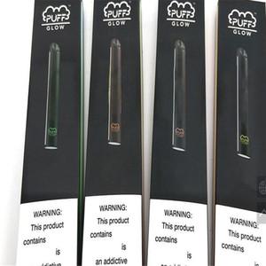 LED disposable device vaporizer e cigarette puff glow electric smoking pen 280mah vaping device no leaking juice vaporizer kit