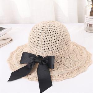 2020 beach hat unisex Casual women summer hats beach 2019 Adjustable Unisex Cap Beach Sun Straw Hat Band Sunhat #C