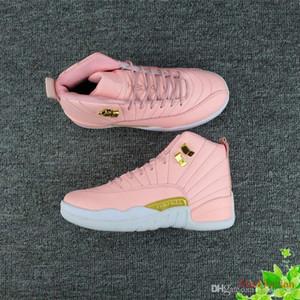 2018 sapatos novos mulheres de basquete 12 GS lobo cinzento vivas rosa XII 12s executando mulheres esporte mulher sapato projetistas casuais da sapatilha