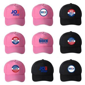Joe Biden Casquette de baseball rose Black Hat président américain Élection d'été Chapeau de soleil ball Cap 2020 chapeaux de fête T2C5241