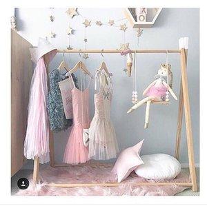 la capa de aterrizaje percha de la habitación del bebé decoración de los niños tienda de ropa percha apoyos fotográfica para presentación visual de vestuario percha de bebé