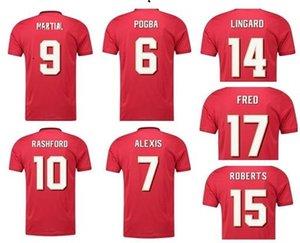 7 Cavani casa com campeão camisa camisa 20-21 18 B.fernandes 10 Rashford 9 Martial 6 Pogba Personalizado 21 Qualidade Tailandesa 34 Van De Beek
