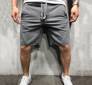 Nuova estate di alta qualità cotone hip hop masts shorts bodybuilding fitness sweat shorts jogger casual palestre da uomo
