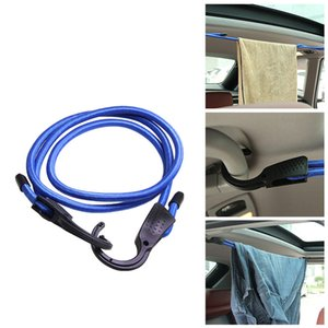 1.5m Solid Rubber Rope Double Buckle Rope For Outdoor Car Clothes Hanging Tensioning Belts Car Interior Accessories