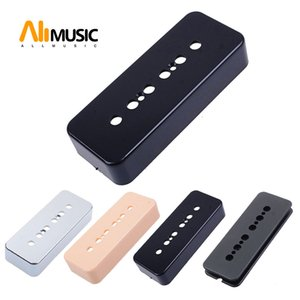 20PCS Soapbar Guitar Pickup Cover 50mm and 52mm Pole Spacings for LP P90 Style Guitar Black White Yellow Silver Available