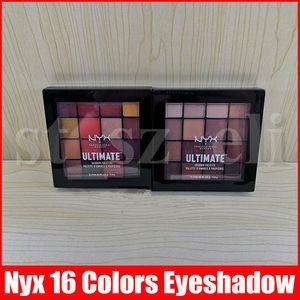 NYX Professional Makeup Warm Нейтральных Phoenix палитра теней 16 цветов Палитра теней NYXULTIMATE матовые тени для глаз