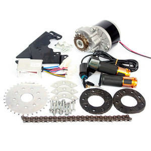 24V / 36V 350W электрический левый привод велосипеда DC Motor Conversion Kit MY1016 Razor Scooter Variable Multiple Speed ​​Ebike Kit