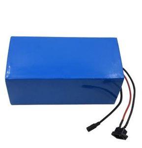 E-Fahrrad-Batterie 60V 24Ah Verwendung Samsung 18650 3000mAh 3,7 V Zelle mit 5A Ladegerät gebaut 50A BMS Lithium-Batterie 60v freien Verschiffen