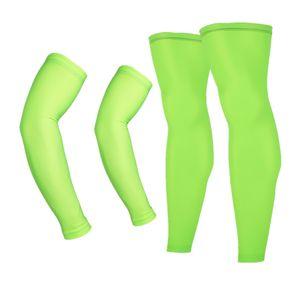 Protezione UV Donna Uomo MTB della bicicletta di riciclaggio del braccio scaldini e gli sport che eseguono Sun manicotti del braccio Leggings