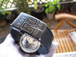 26MM QUALIDADE SUPERIOR Malásia pulseira de borracha Fivela usou homens SÉRIE EXCALIBUR PARA 45MM RD de Reparação do Relógio PULSEIRA FIX ACESSÓRIO PARTE relojoeiro