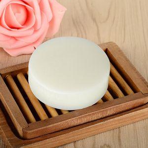 Latte pelle liscia di 1PCS Handmade Soap Goat serraggio trattamento dell'acne rimozione pori Pulizia profonda Pimple Pore Viso TSFH