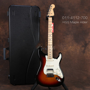 New Top quality FDST-1104 3TS color solid Alder body maple neck 22 frets chrome hardware Elite ST electric guitar, Free shipping