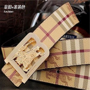 Cinture di lusso cinghie designer Burburry Cinture delle donne degli uomini della cinghia di marca inarcamento 16 stili larghezza 3,4 cm di alta qualità,