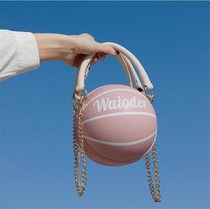 Pallacanestro vendita calda 2020 Qualità calda di lusso di alta Shoulder Bag Pu ad alta capacità da basket borsa di Crossbody Lady Shopping Tote Bags # 29274