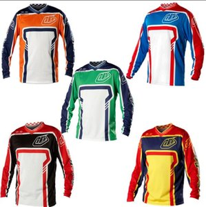 2020 explosion model TLD downhill suit cycling jacket shirt men's summer off-road motorcycle long-sleeved T-shirt racing suit off-road shirt